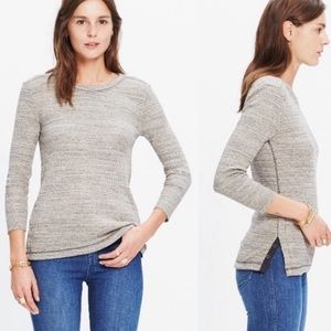 NWOT Madewell Side Button Thermal Tee